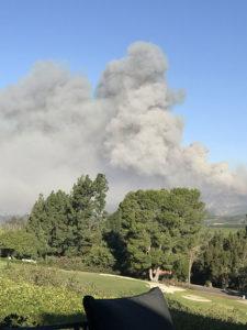 California Fires - Winemaking and CA Fires - Vineyard Fires - Gratefullane
